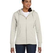Ladies' 9 oz. Organic/Recycled Full-Zip Hood