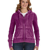 Ladies' Zen Full-Zip Fleece Hood