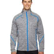 Men's Flux Mélange Bonded Fleece Jacket
