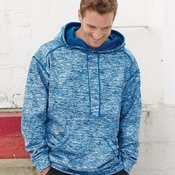 Blend Polyester Fleece Performance Hooded Pullover