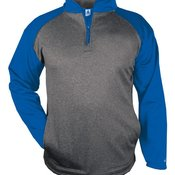Sport Pro Heather Performance Fleece Quarter-Zip Pullover