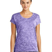 Ladies PosiCharge ® Electric Heather Sporty Tee