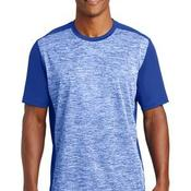 PosiCharge ® Electric Heather Colorblock Tee