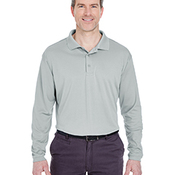 Adult Cool & Dry Sport Long-Sleeve Polo
