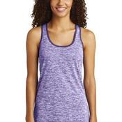 ® Ladies PosiCharge ® Electric Heather Racerback Tank