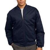 Team Style Jacket with Slash Pockets
