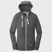 ® Ladies Sueded Cotton Blend Full Zip Hoodie