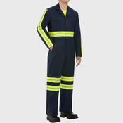Enhanced Visibility Action Back Coverall - Long Sizes