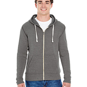 Triblend Full-Zip Fleece Hood