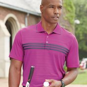 Golf Puremotion Three Stripe Chest Polo