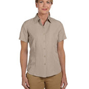 Ladies' Barbados Textured Camp Shirt