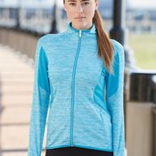 Golf Ladies' Space Dyed Full-Zip Jacket