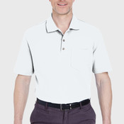 Adult Classic Piqué Polo with Pocket